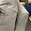Thumbnail: Cream Leather Loveseat