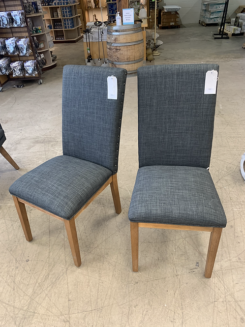Nailhead Dining Chairs (sold separately)