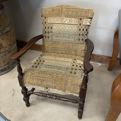 Antique Patterned Chair