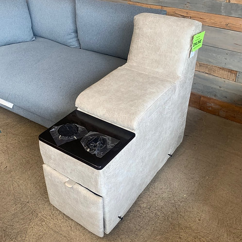 Beige Partial Center Sectional Insert