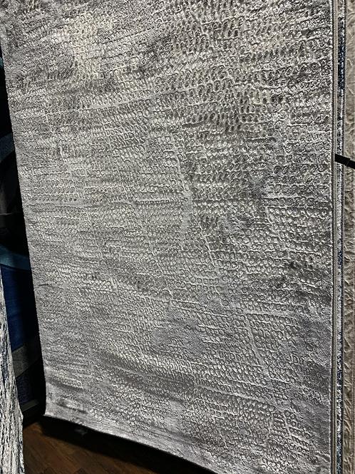 "DaVinci Grey 5'5"" x 7'5"" Area Rug"