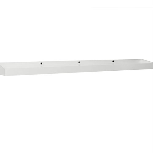 "NewAge Home Bar - White 72"" Display Shelf"