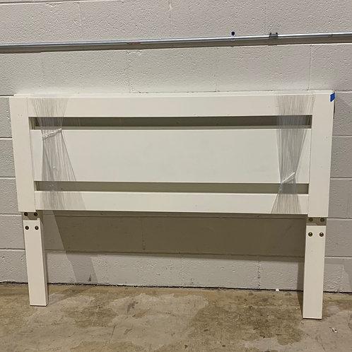Full White Headboard/Footboard