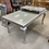 Thumbnail: Silver & Glass Dining Table