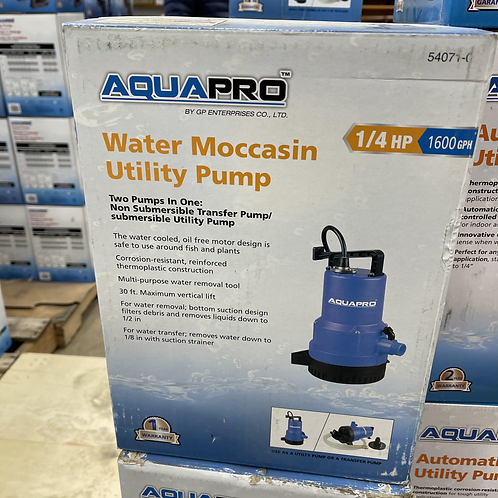 Water Moccasin Utility Pump
