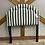 Thumbnail: Green Striped Twin Headboard