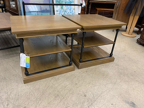 Wayfair Square Wood & Metal End Tables (sold seperately)