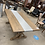 Thumbnail: Wood & Metal Dining Table