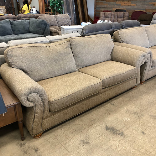 Brown Fabric Couch