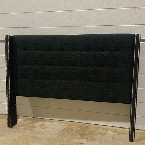 King Charcoal Tufted