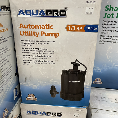 Automatic Utility Pump