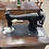 Thumbnail: White Rotary Sewing Machine Desk