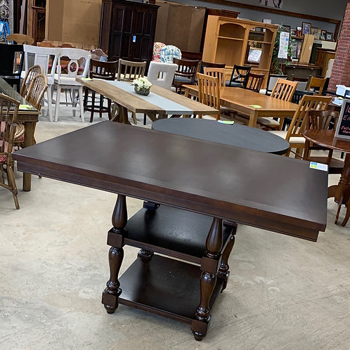 Wooden Counter Height Pub Table
