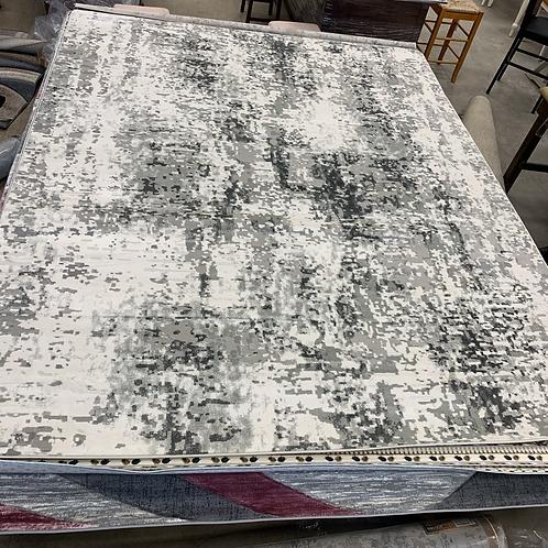 Trendy Grey 8' x 11' Area Rug