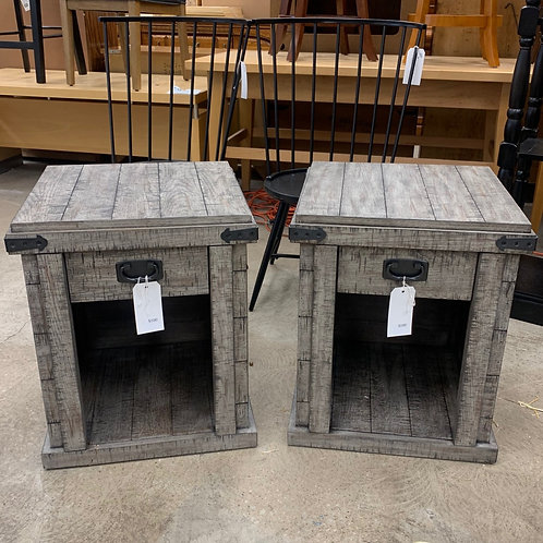 Distressed Side Table (sold separately)