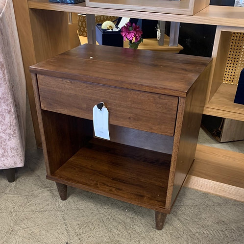 Wood End Table w/ Drawer