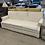 Thumbnail: Off-White Vintage Fabric Sofa