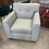 Thumbnail: Light Colored Fabric Chair