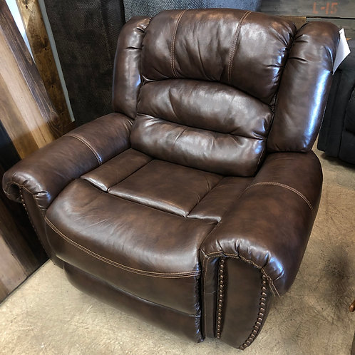 Oversize Brown Chair
