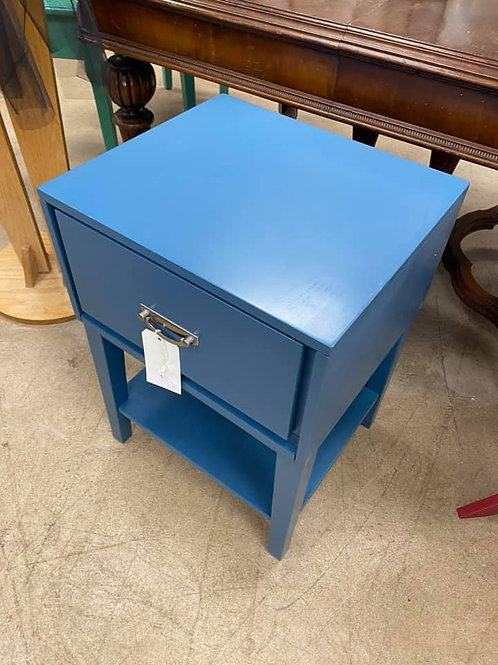 Blue Wayfair Side Table