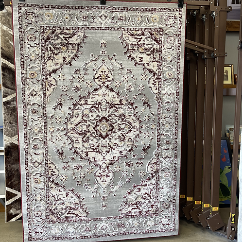 """Classy Red 5'5"""" x 7'5"""" Area Rug"""