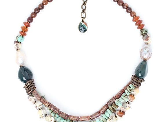 Forest Therapy collier 3 row