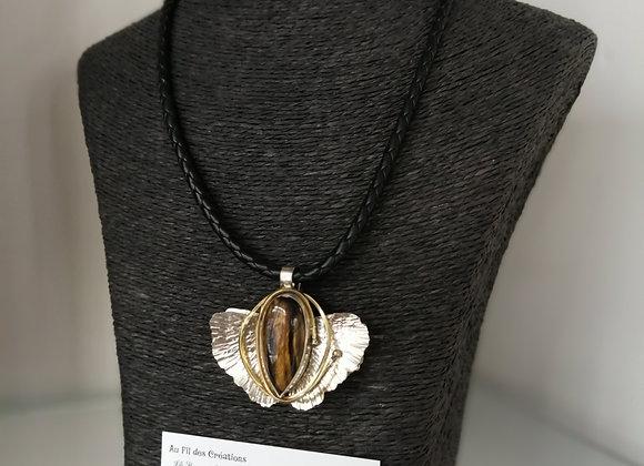Collier pierre semi-précieuse