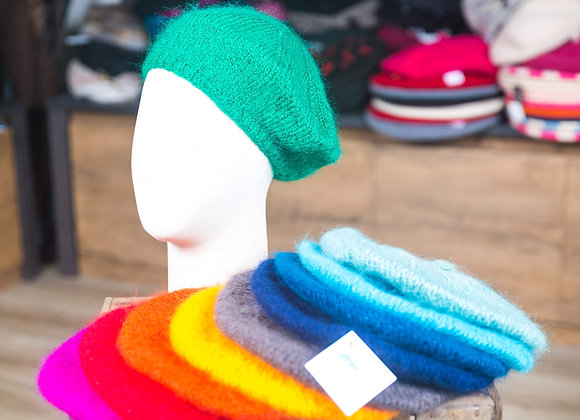 Bérets bonnets Chapeline laine mohair de Laguenne