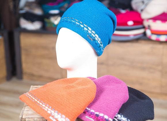 Bonnets femme laine