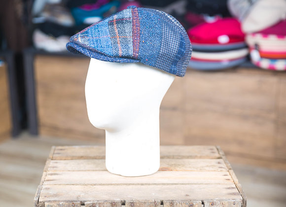 Casquette Oxford patchwork