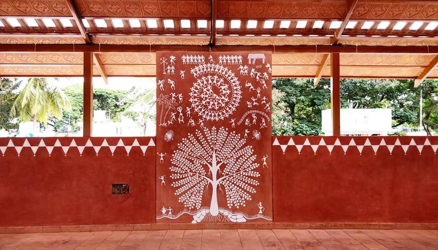 Dance school terrace design