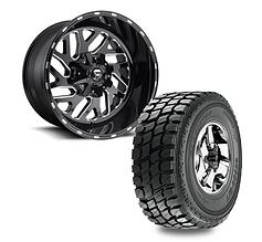 """20"""" Fuel Off-Road Triton D581 w/ Gladiator QR900-M/T"""