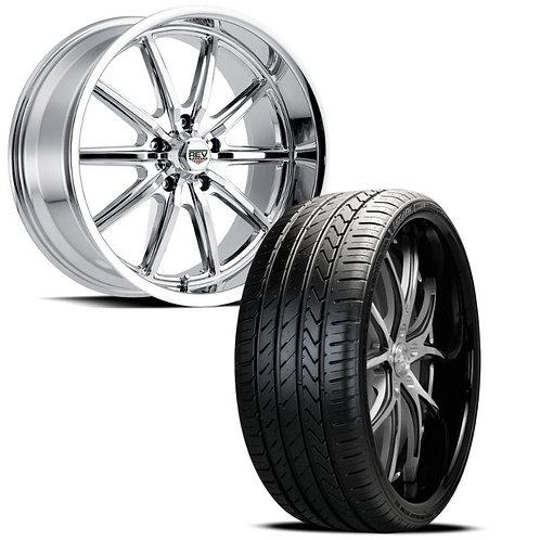 "20"" Classic REV Wheels 110 C w/ Lexani LX-Twenty"
