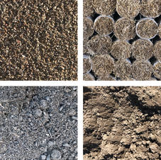 Soils, Sands, Sod and Straw Mats