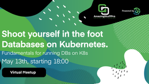 Shoot yourself in the foot - Databases on Kubernetes