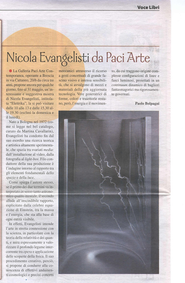Voce Libri - Paolo Bolpagni - Nicola Eva