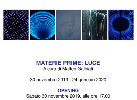 MATERIE PRIME: LUCE