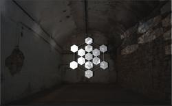 hexagones Light art award ombra sin