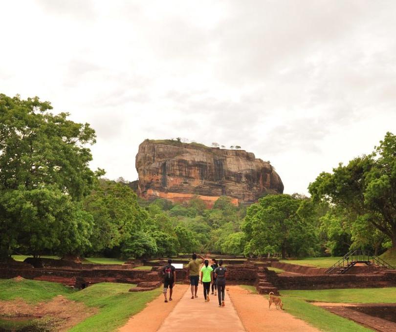Sigiriya Lion's Rock Ascent