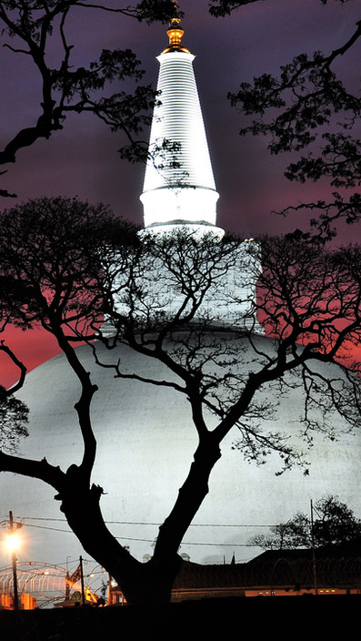 Anuradhapura Sunset Scenery, Birding & Exploration of Sri Lanka Ancient City
