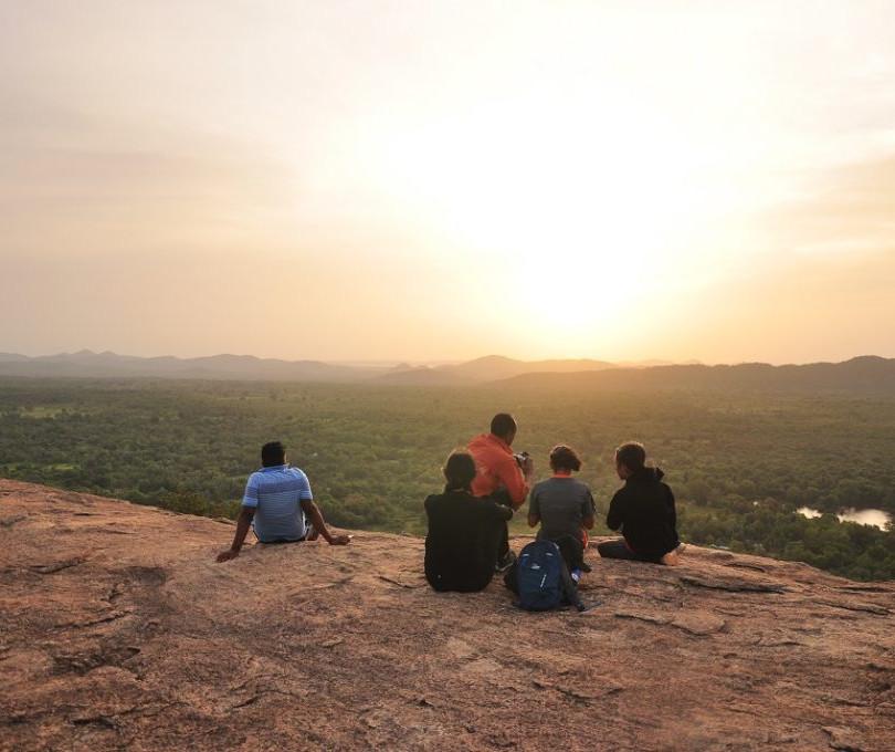 Pidurangala Rock Climbing