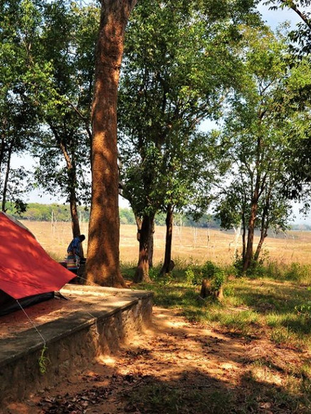 Camping in the Heart of Galoya NP