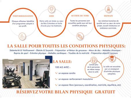 La salle sport-santé