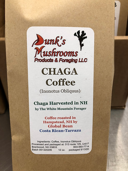 Chaga Coffee. Costa Rican Tarrazu and Columbian Supremo