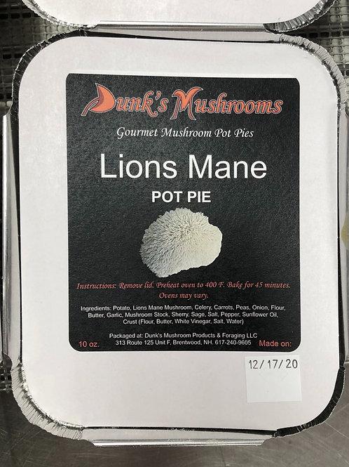 Lions Mane Pot Pie