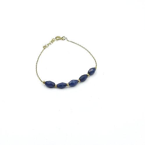 925 Ayar Gümüş Jade (Yeşim) Doğal Taşlı Toplu Bileklik