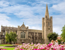 St Patrick's Cathedral, Dublin.