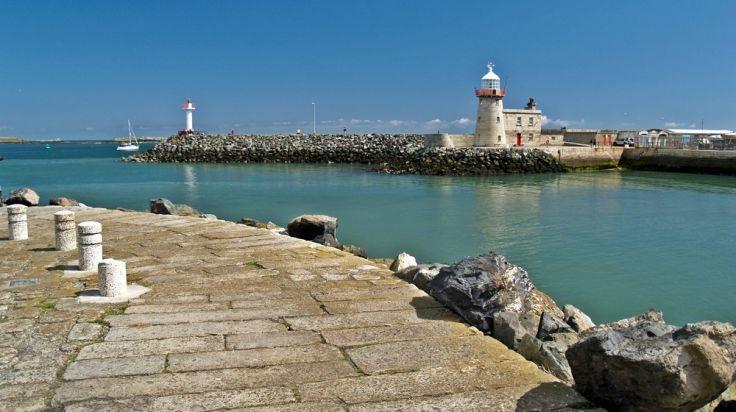 Howth Lighthouse.