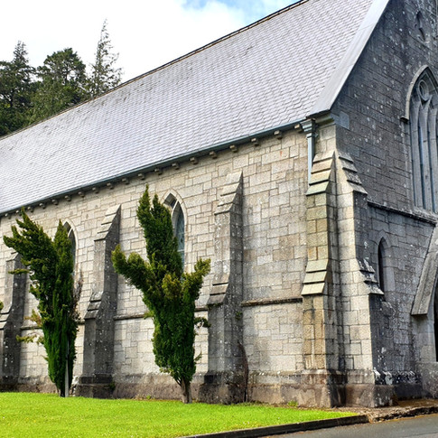 St Kevins Church in Glencree