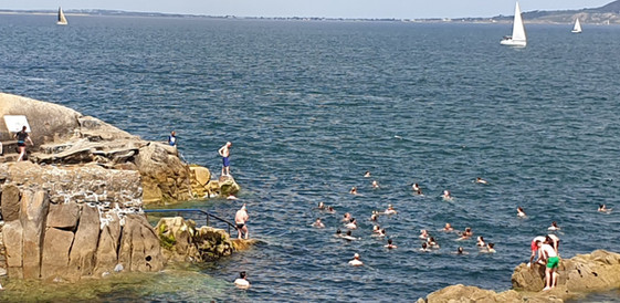 The Forty Foot Swimming
